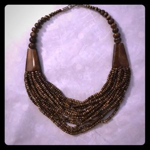 Jewelry - Brown Beaded Necklace